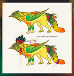 Tropical bird [Auction: CLOSED] by Endber