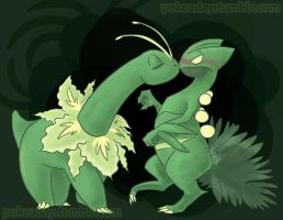 pokeaday11-30-2011 Sceptile by Pokeaday