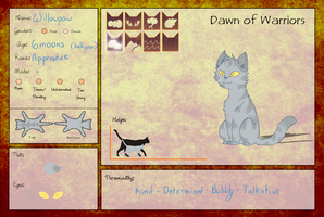Willowpaw :: Dawn of Warriors App by ColorNova