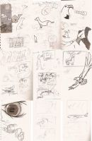 Karma sketches and storyboards by notAlex