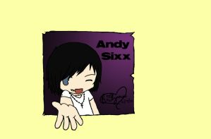 Andy Sixx For My Sister by Manic-hyper-hedgehog