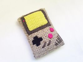 Gameboy Amigurumi by Nekomaru85