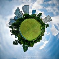 Little Green Planet by hbmediawork