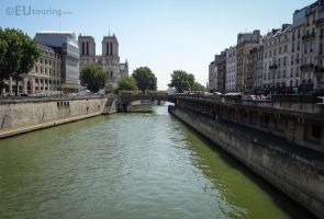View to the Petit Pont by EUtouring