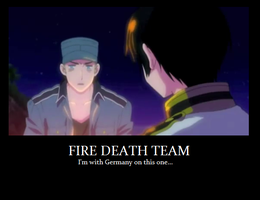 Fire Death Team Motivational by Candles934