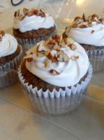 Carrot Cupcakes by PnJLover