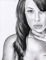 Aaliyah by bsmithdrawings