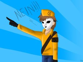 NEIN!!! by Vicstal36