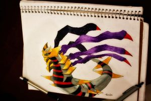 Giratina Origin Forme by NChicaGFX