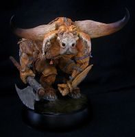 Paul Bonner Minotaur Finished 1 by RavendarkCreations