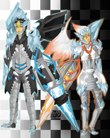 ::Black and white Kyurem:: by Pandastrophic