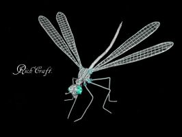 Dragon fly Sculpture5 by braindeadmystuff