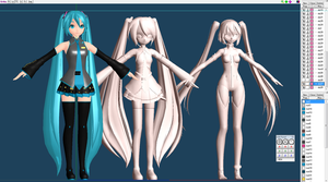 PROJECT DIVA Mikus Perfection WIP 5 by chatterHEAD