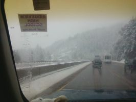 Snow Ashland OR by Wolfmoot