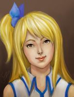Lucy Heartfilia 2 by TanyaGreece
