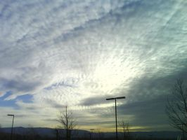 PHOTOGRAPHY: cloud ridges by kanosa