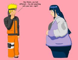 Hinata, Bigger as Well by Gemble