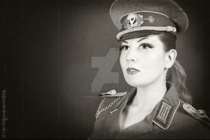 Military Girl by MADmoiselleMeli