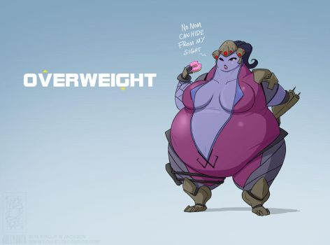 Overweight by jollyjack