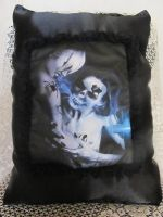 GOTHIC by DA' s SK-DIGIART Decorative Art Pillow by ObsidianRavenShadow