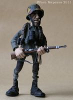 Figures of soldiers of WW1 by RostMironov