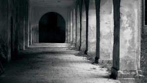 Cloister of Chwalecin'sChurch' by tipoe