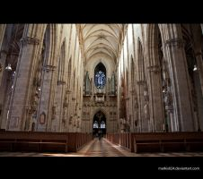 Ulm Minster-interior by markis024