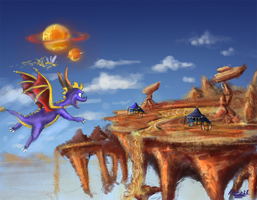 Quicksand plateau by ZhBU