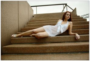 Kathryn - opera house steps 2 by wildplaces