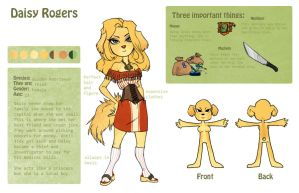 Daisy ref of winsauce by SinCommonStitches