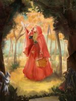 red riding hood by linhxiao