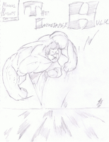 The Incredible Hulk by thunderking