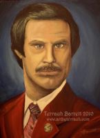 The Legend of Ron Burgundy by Terrauh