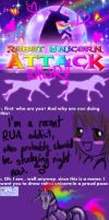 Robot Unicorn Attack Meme by ZutaraRaven