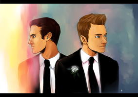 Glee FanArt: Special day by NinaKask