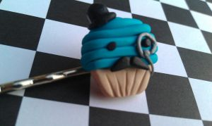 Prim and Proper Cupcake by Gynecology