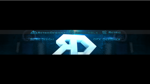 New Banner for Youtube by RetricDesignz
