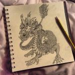 Chinese dragon by Sophieearnyy
