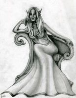 Arrogance- sketch by Mistresselysia