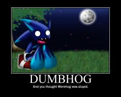 Dumbhog poster by ARTic-Weather