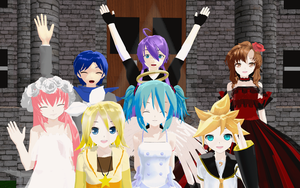 My Vocaloid Family 2 by Ryukrieger
