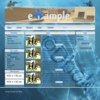 My first web design DONE 100% by dBok
