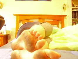Dirty sole 5-sleeping by Girl-With-Cat-Claws