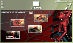 Stamps - 2004 - Spider-Man 2 by od3f1