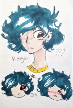 ~ Ryoga!! ~ by Okay-cool