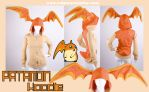 Digimon Cosplay Patamon Hoodie by calgarycosplay