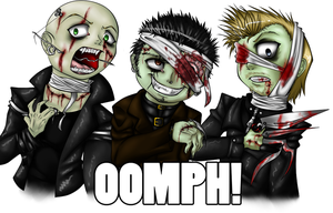 OOMPH zombie - 2 by IsadoraBelli