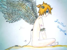 Electric Angel Len by lullabyly