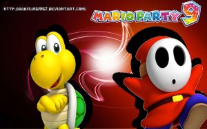 Shy Guy and Koopa Troopa in Mario Party 9 by babyluigi957