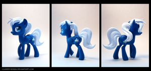 Starshadow 3D Printed Figure by Clawed-Nyasu